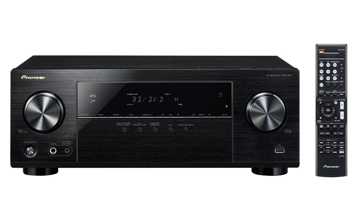 Pioneer VSX-531B BT resīveris