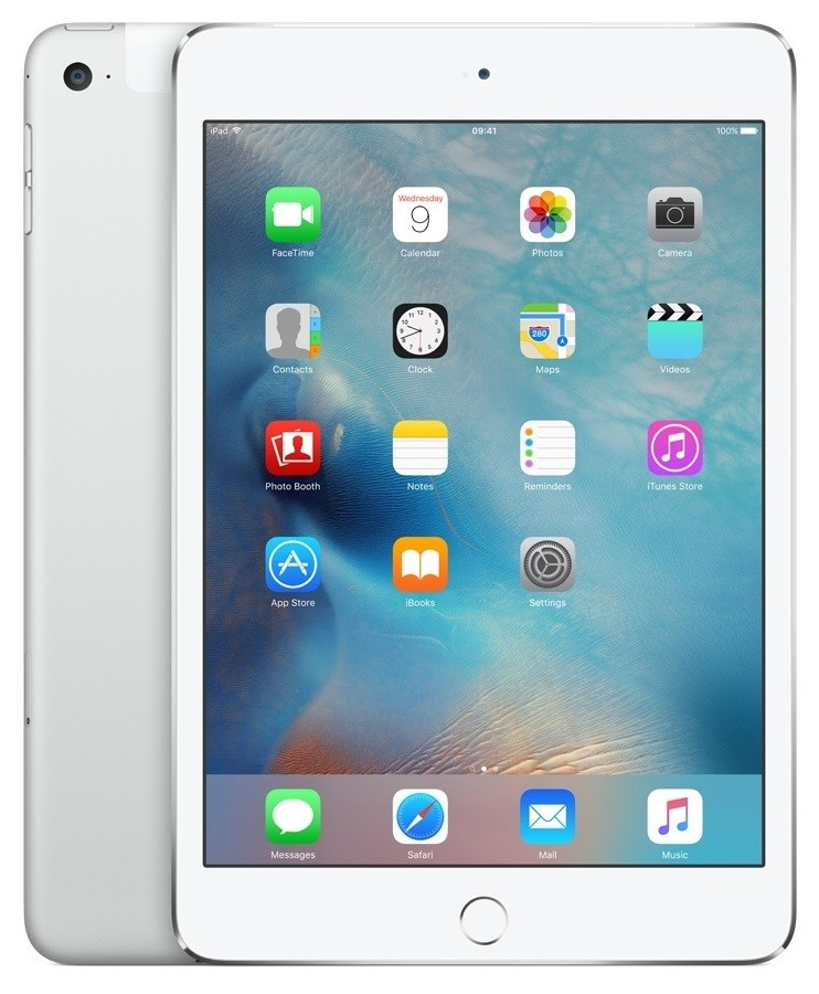 APPLE iPad mini 4 Wi-Fi 128GB Silver MK9P2 Planšetdators