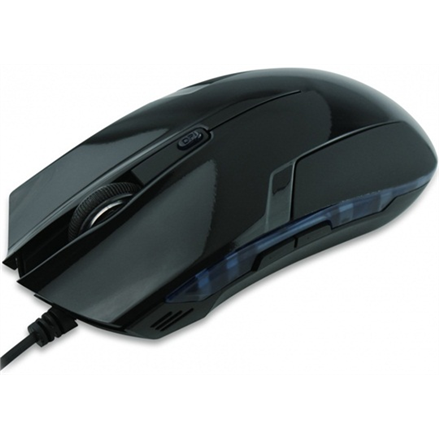 Super power G120 whit LED wired, Mouse Datora pele