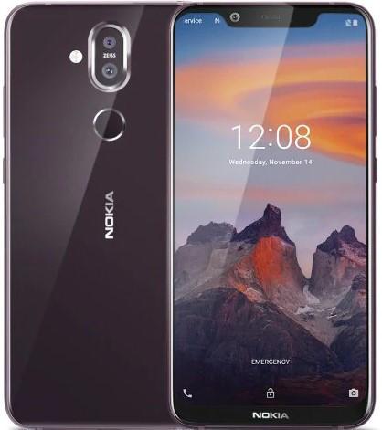 Nokia 8.1 64GB Dual-SIM steel Mobilais Telefons