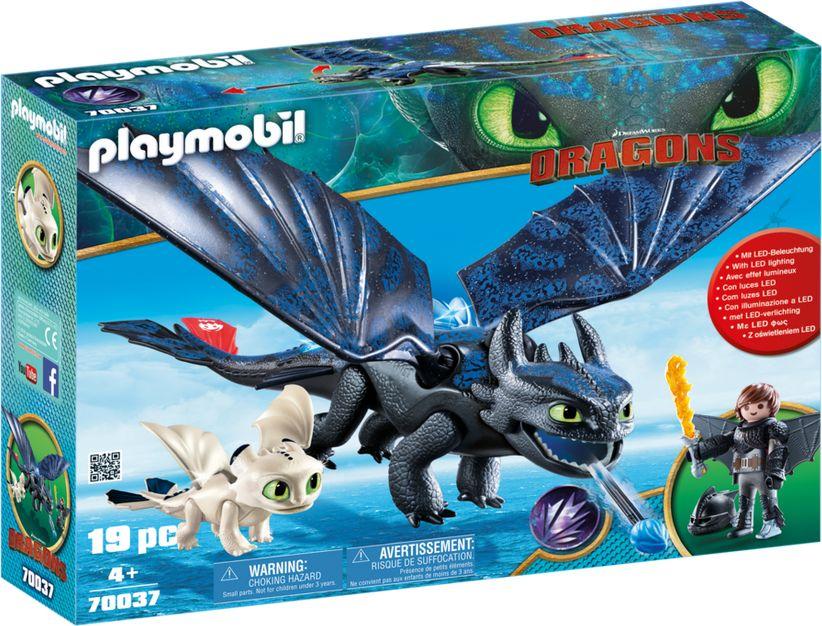 Playmobil Toothless and Hicks Playset - 70037 bērnu rotaļlieta
