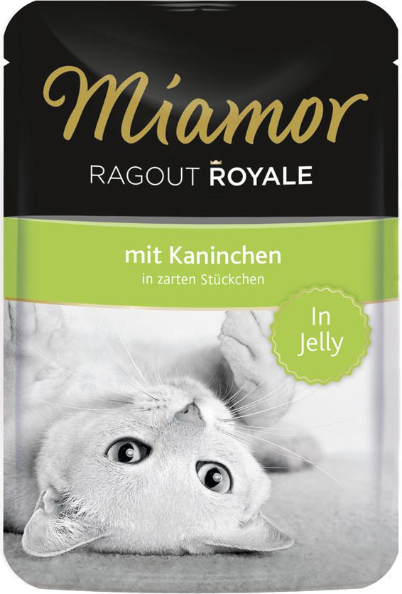 FINNERN Miamor Ragout Royale saszetka Krolik w galaretce - 100g 74056 kaķu barība