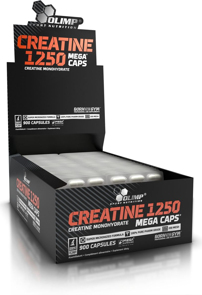 Olimp Creatine 1250mg 120 Mega Caps Olimp size MP