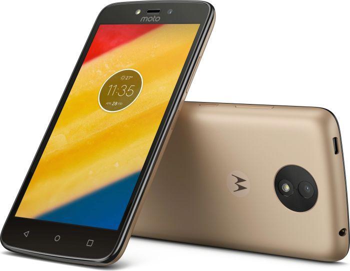 Smartfon Lenovo Moto C Plus 16GB Zloty (PA800129PL) Mobilais Telefons