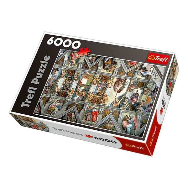 Trefl 6000 EL. The vault of the Sistine Chapel (65000) puzle, puzzle
