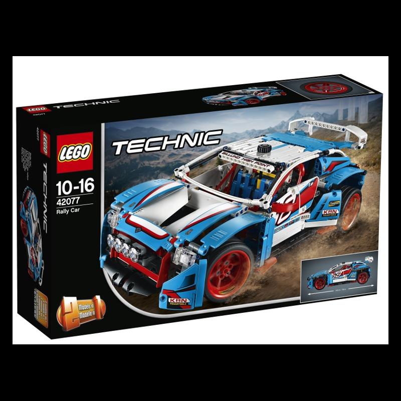 LEGO Technic 42077 Rally Car LEGO konstruktors