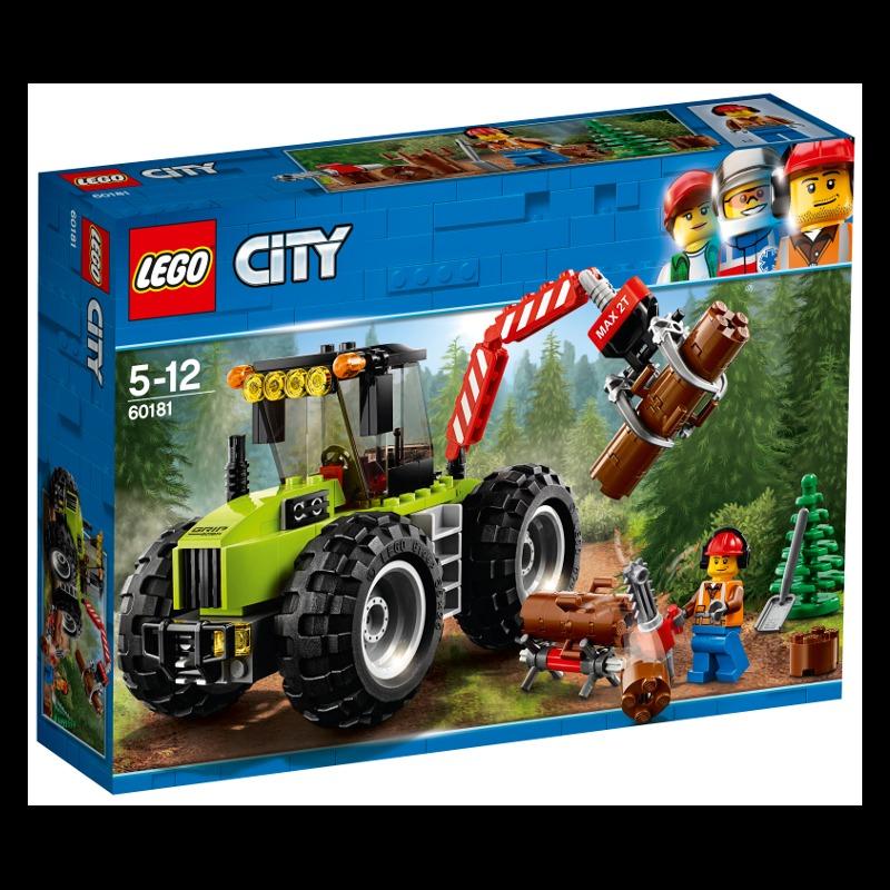 LEGO City 60181 Forest Tractor LEGO konstruktors