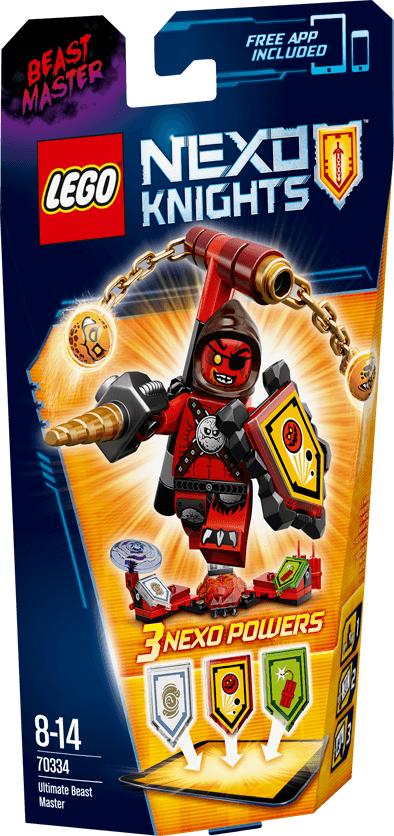 Lego Nexo Knights Wladca Bestii 70334 konstruktors