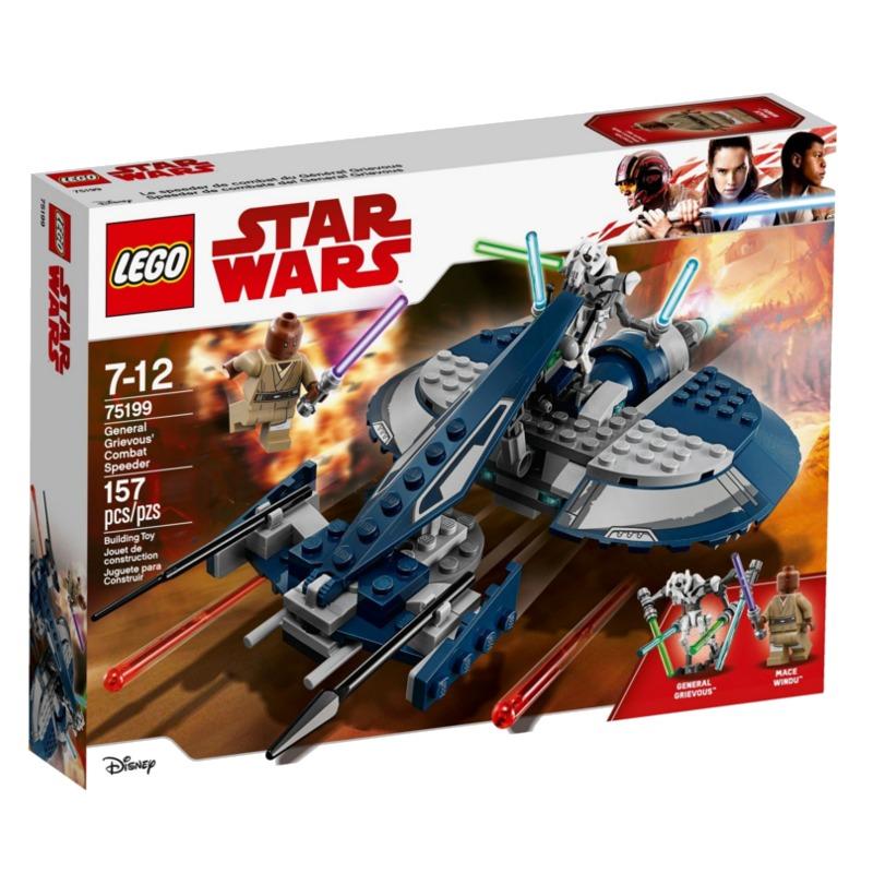 LEGO Star Wars 75199 General Grievous Combat Speeder LEGO konstruktors