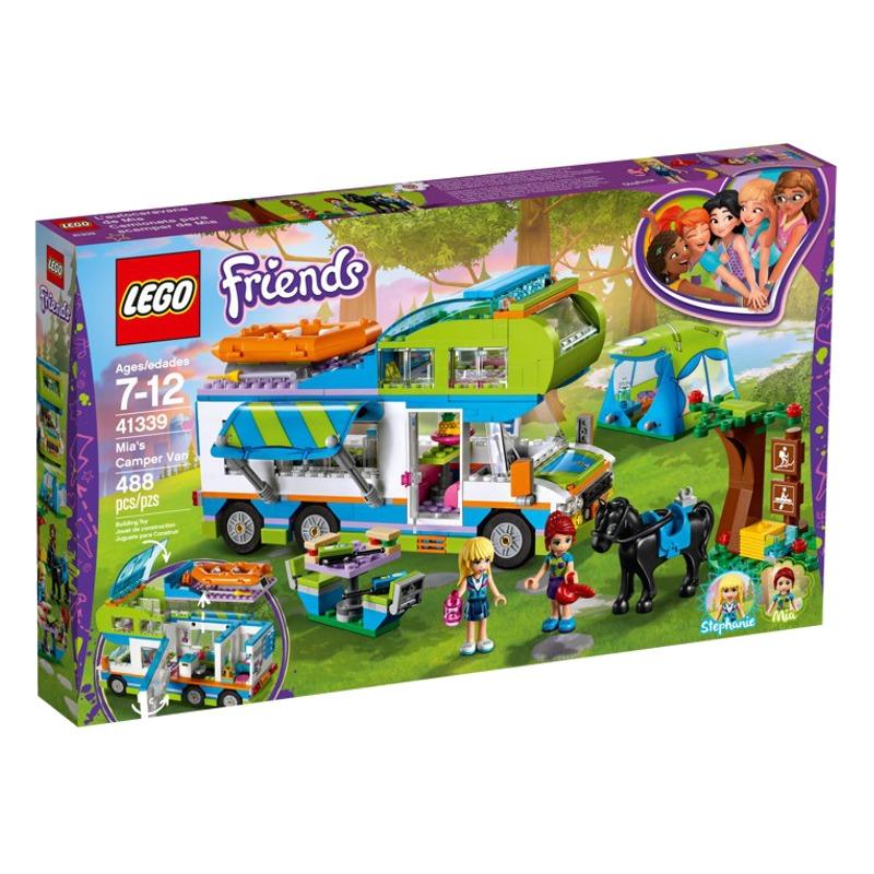 LEGO Friends 41339 Mias Camper van LEGO konstruktors