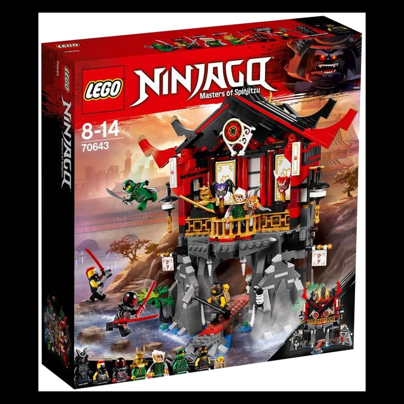 Lego Ninjago 70643 Temple of Resurrection LEGO konstruktors
