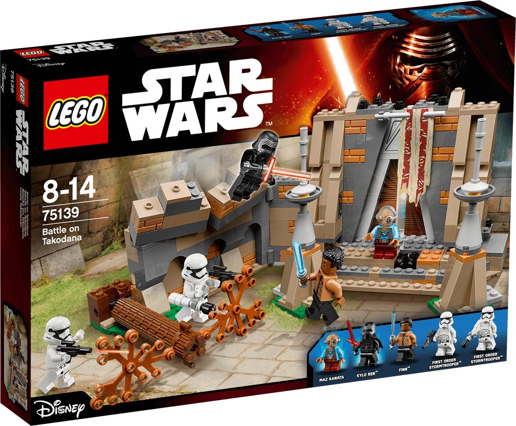 LEGO  Star Wars 75139 Battle on Takodana LEGO konstruktors
