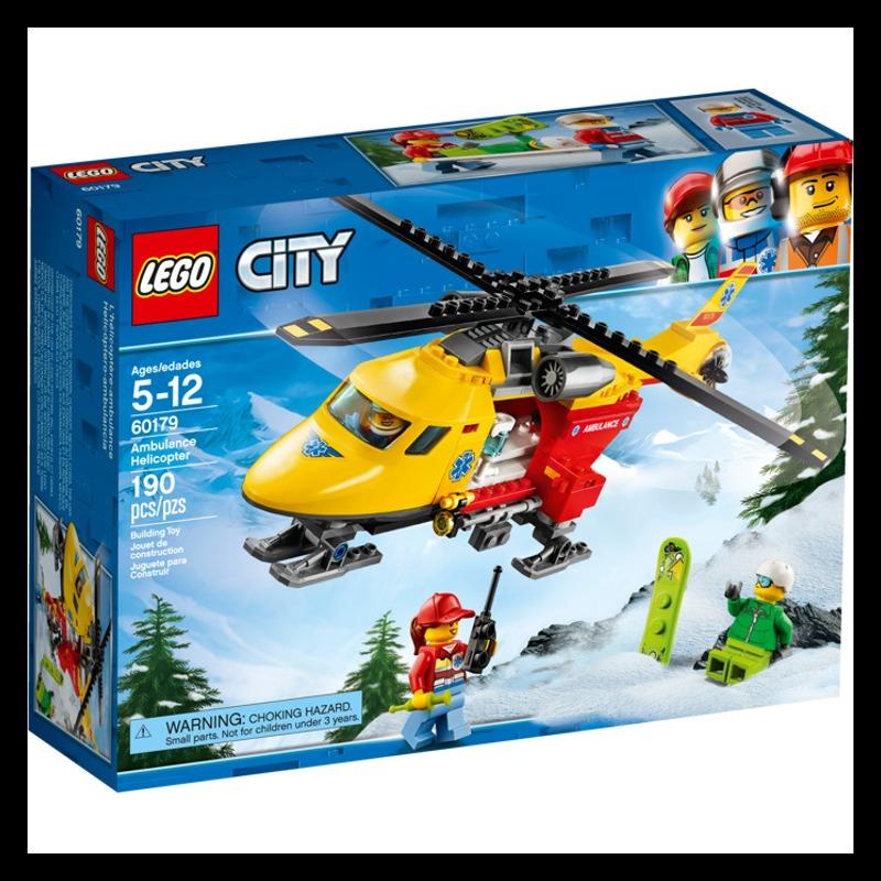 LEGO City 60179 Ambulance Helicopter LEGO konstruktors