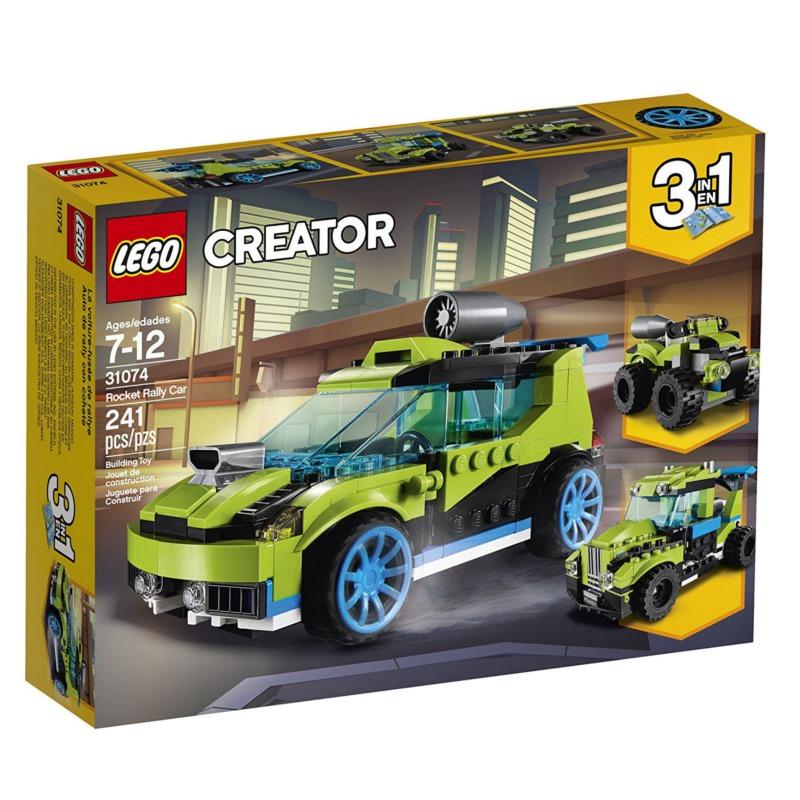 LEGO Creator 31074 Rocket Rally Car LEGO konstruktors
