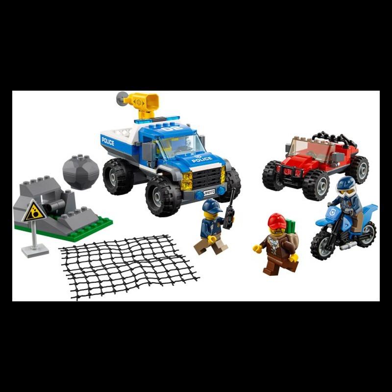 LEGO City 60172 Dirt Road Pursuit LEGO konstruktors