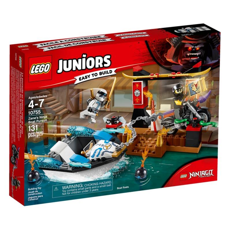 LEGO Juniors - Zane's Ninja Boat Pursuit - 10755 LEGO konstruktors