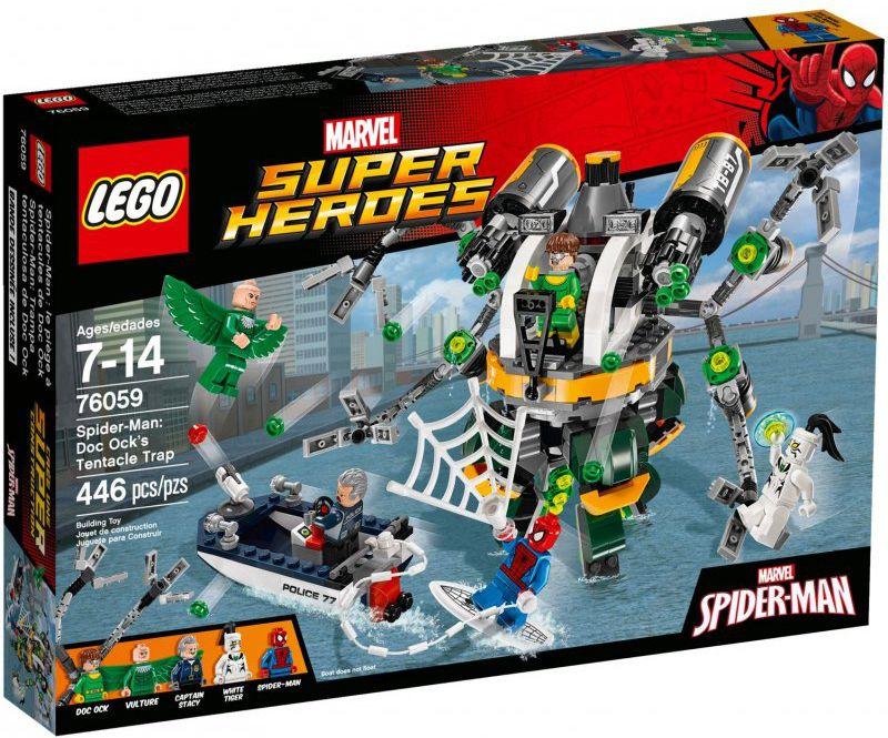 Lego Spider-Man, Doc Ock's Tentac V29 LEGO konstruktors