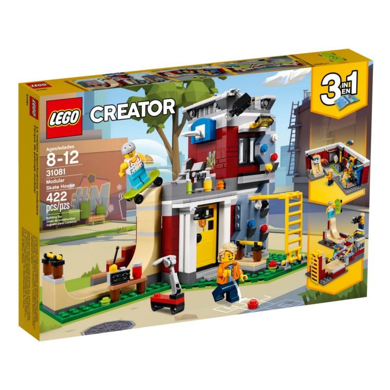LEGO Creator 31081 Modular Skate House LEGO konstruktors