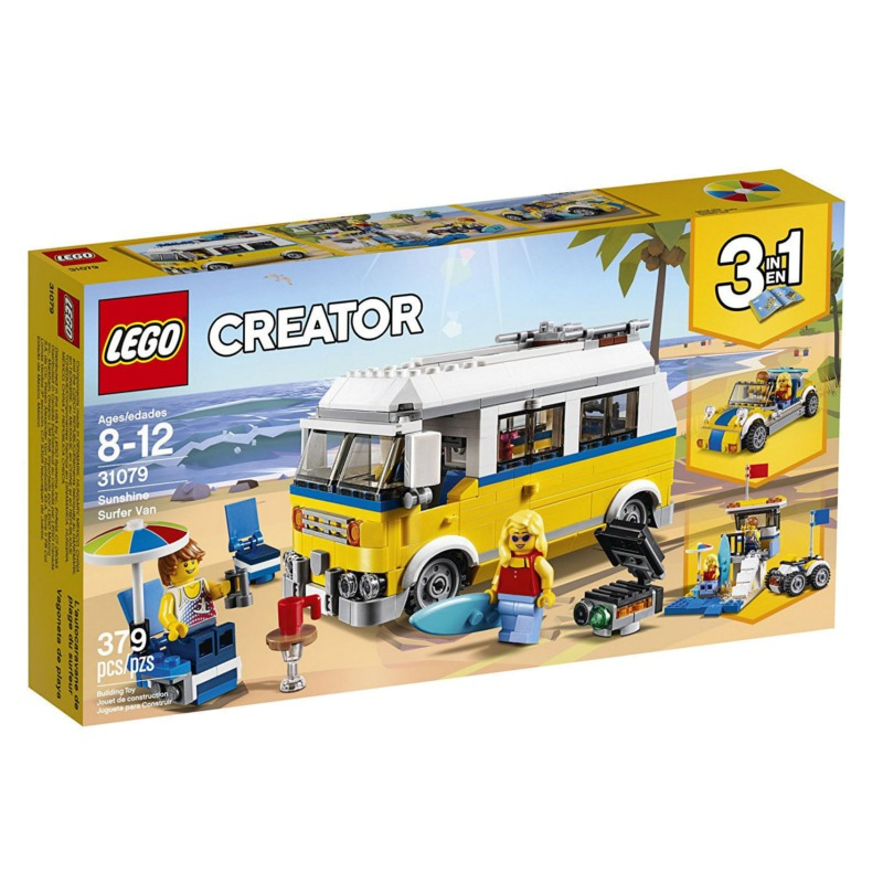LEGO Creator 31079 Sunshine Surfer Van LEGO konstruktors