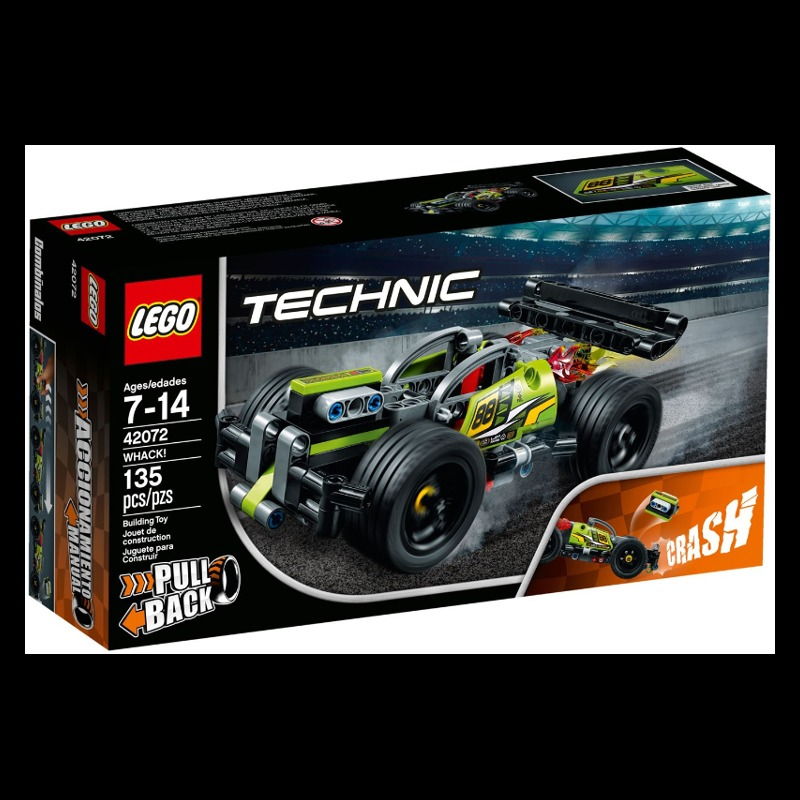 LEGO Technic 42072 Whack! LEGO konstruktors