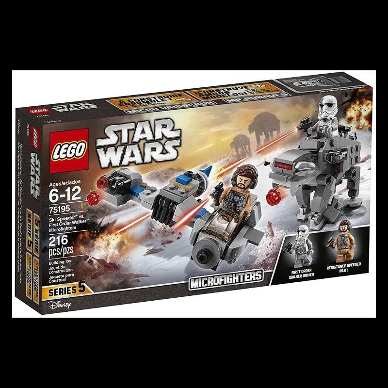 LEGO Star Wars 75195 Ski Speeder vs. First Order Walker MF LEGO konstruktors