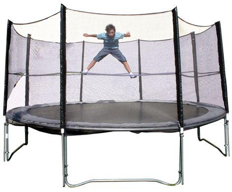 Spartan Zestaw trampolina z siatka bezpieczenstwa  366 cm  (S1081) S1081 Batuts