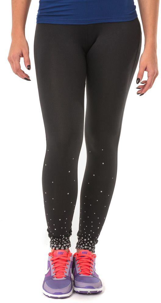 IQ Spodnie do biegania SIMANI WMNS Black/azalea r. S 5901979114079