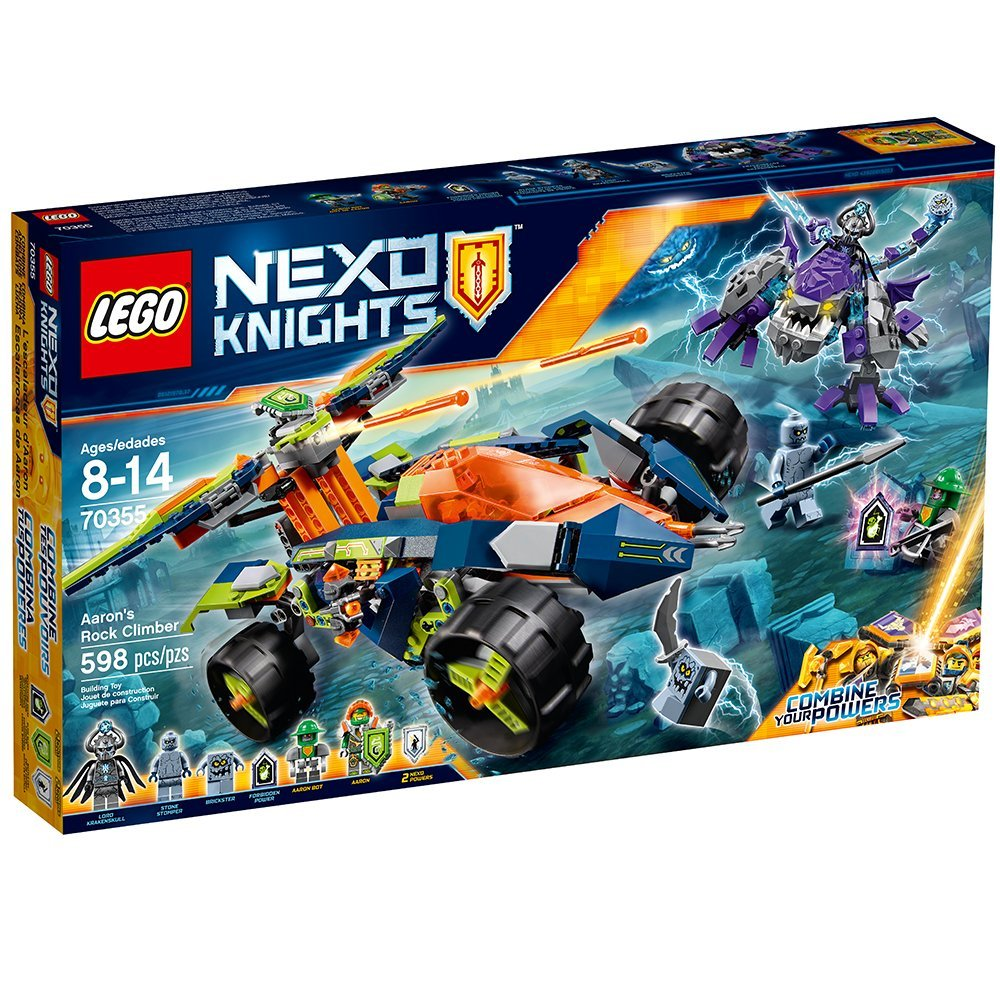 LEGO NEXO KNIGHTS 70355 Aaron's Rock Climber LEGO konstruktors