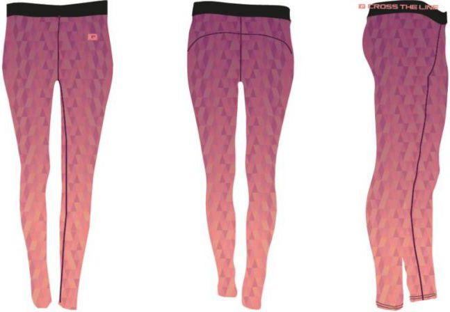 IQ Damskie legginsy Eirene II WMNS Shell Pink Tinting r. L 5901979111153