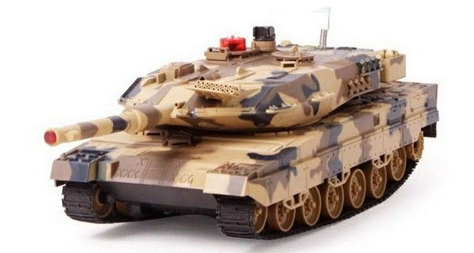 Leopard RTR 1:18 - Yellow UF/516-10-YEL