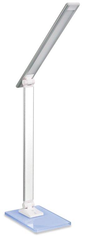 Platinet PDLX14S RGB Glass Base Special LED 6W Galda Lapma Sudraba PDLX14S