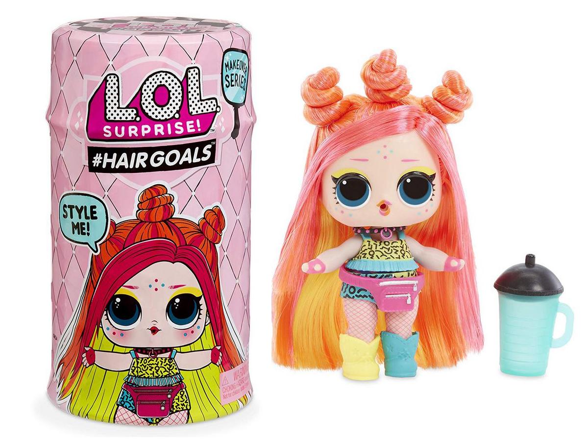 MGA LOL L.O.L. Surprise 2 Hairgoals Real Hair NEW (ir uz vietas) Makeover Series bērnu rotaļlieta