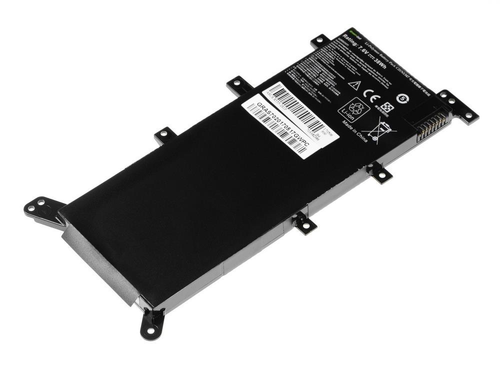 Green Cell C21N1347 for Asus A555 A555L F555 F555L F555LD K555 K555L K55 akumulators, baterija portatīvajiem datoriem
