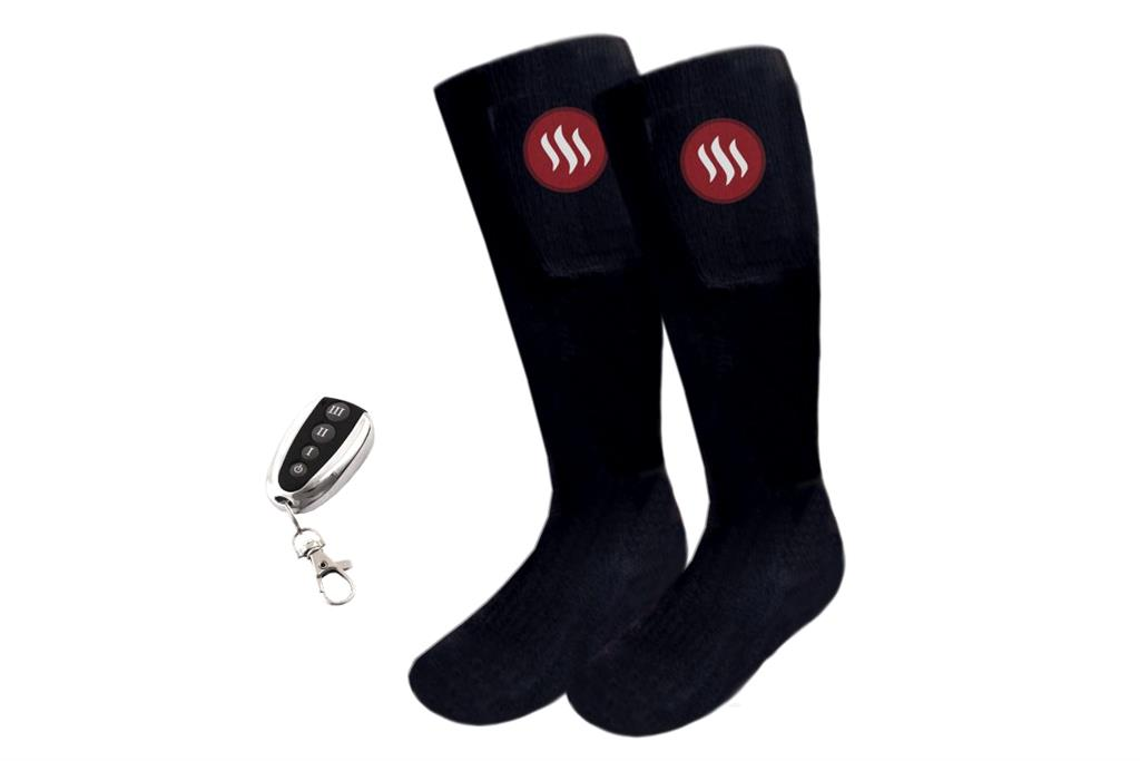 Glovii - Thermoactive socks with remote, size M