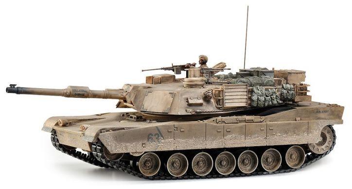 M1A2 Abrams Premium Tank 1:16 2.4GHz RTR HEM0717