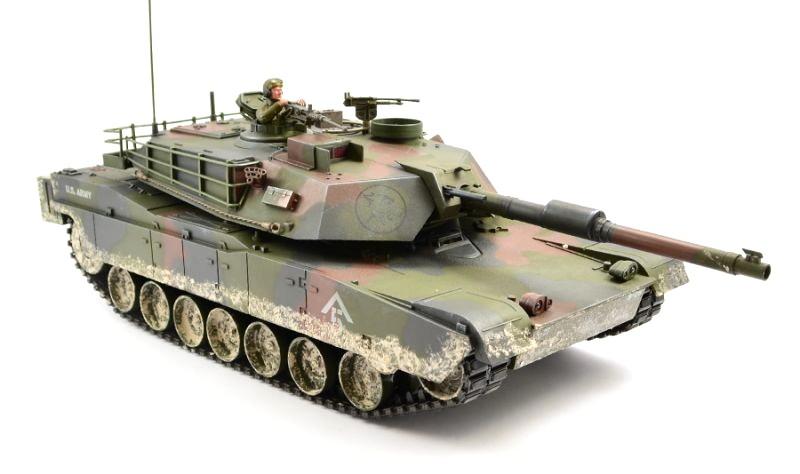 M1A1 Abrams Premium Tank  1:16 27MHz RTR HEM0711