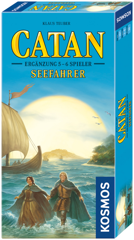 CATAN Galakta - Supplement 5 - 6 Player - Mariners (Germany) galda spēle