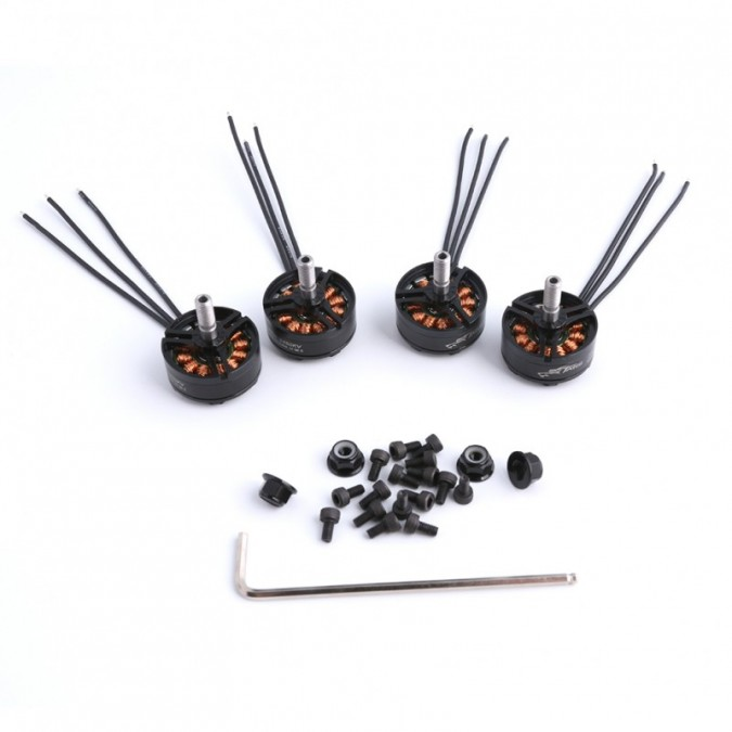 4 brushless motors 2305 2450KV 2-4S TATTU TA-MOTOR-2305-2450KV-4PCS