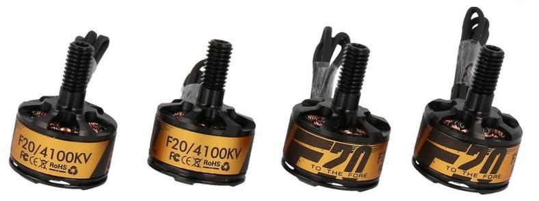 Two brushless motors set T-MOTOR F20 II 4100kV TM/F20/4100KV-4PCS