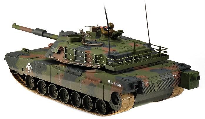 M1A1 Abrams Tank  1:16 27.095MHz RTR HEM0811(27.095)