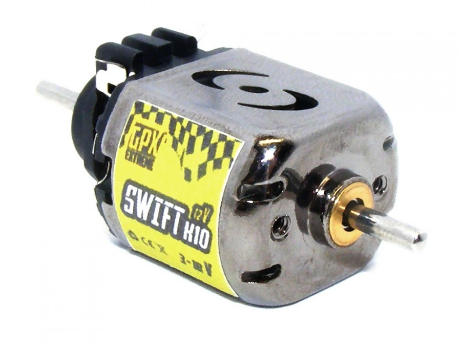 Motor SWIFT Slot X10 12V GPX/S2X10BD12V