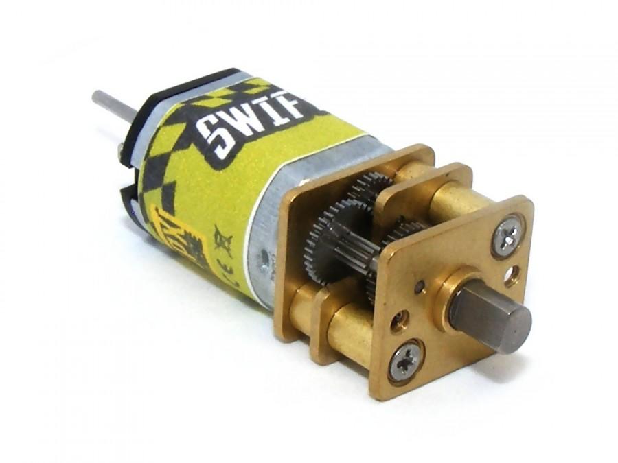 SWIFT N20VS motor w/ gear 1:298 (10 rpm) GPX/S00071114