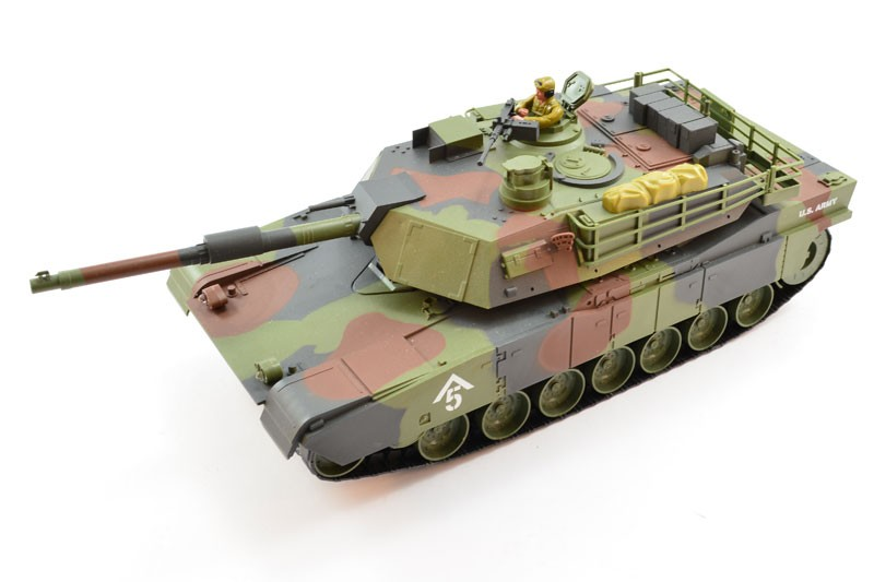 M1A1 Abrams Tank  1:20 27MHz RTR HEM0731