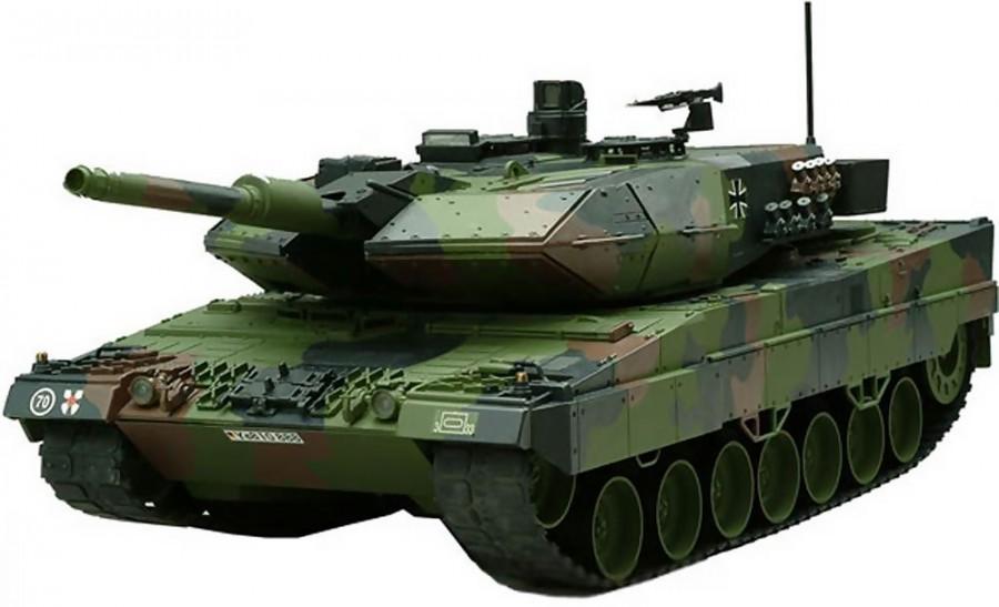 Leopard 2A6 Tank RTR 1:16 26.995MHz HEM0804(26.995)
