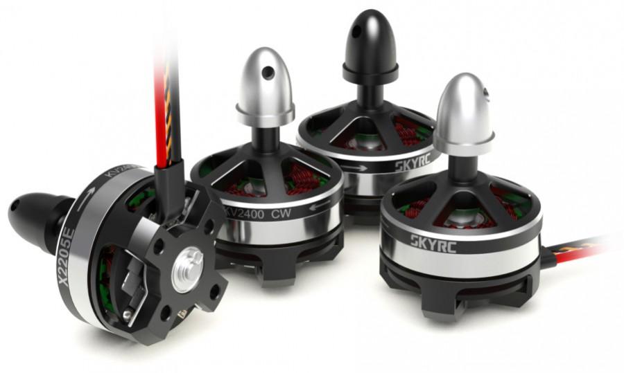 4 brushless motor set w/ controller SkyRC X2205E 2400kV SK-400021-01