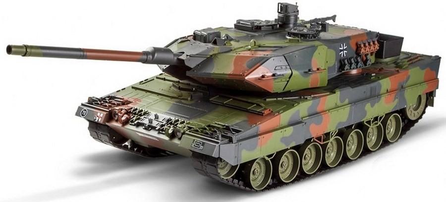 Leopard 2A6 Premium Tank RTR 1:16 2.4GHz HEM0704