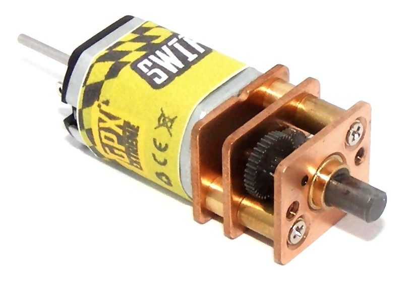 SWIFT motor w/ gear 1:298 v2 (10 rpm) GPX/S20151001