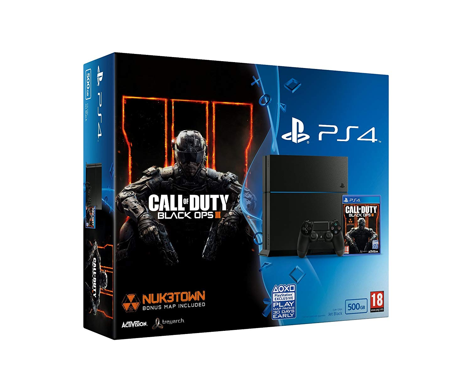 Sony Playstation 4 Slim 500GB (PS4) Black + Call of Duty: Black Ops 4 711719758716  T-MLX27340 spēļu konsole