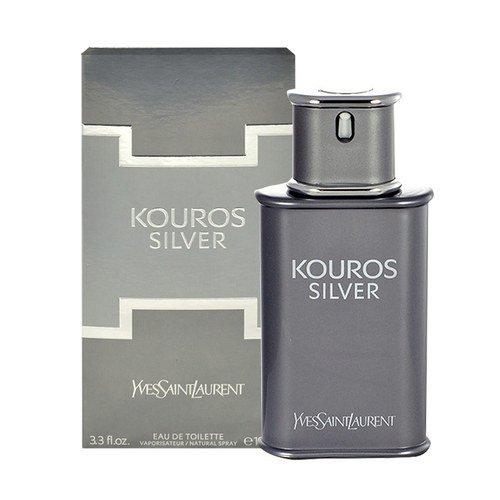 YVES SAINT LAURENT Kouros Silver  EDT 100ml 3614270233630 Vīriešu Smaržas