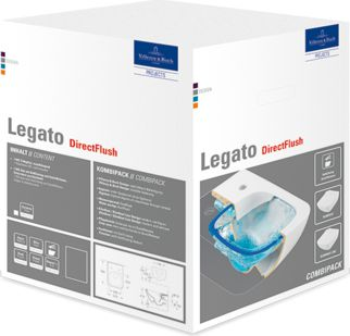 Miska WC Villeroy & Boch Legato DirectFlush wiszaca  (5663RS01) 5663RS01